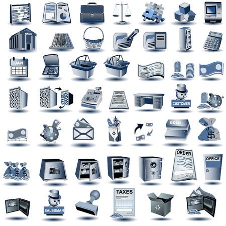Enorme vector illustratie set van andere account beelden, volledig editable Vector Illustratie