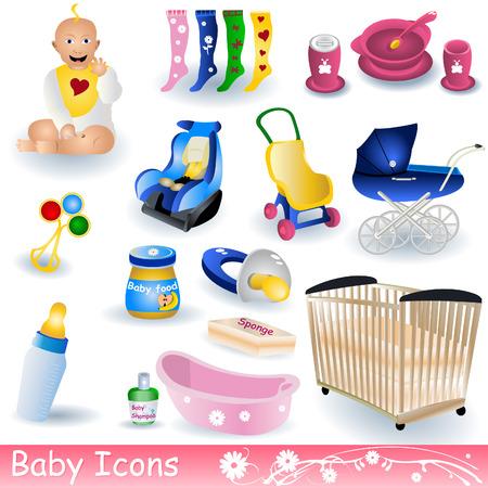 Icônes de bébé