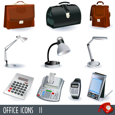 Office icon set, part 2 Illustration