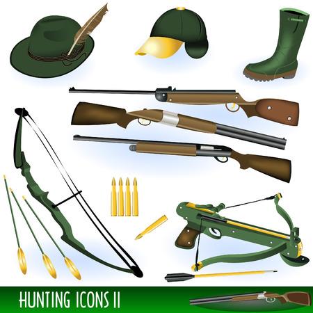 armbrust: Jagd Icons 2 Illustration