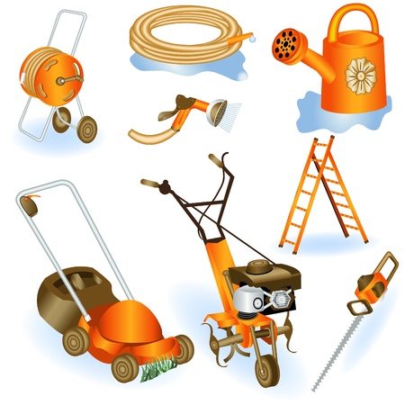 Garden tools 2 Stock Vector - 9488206