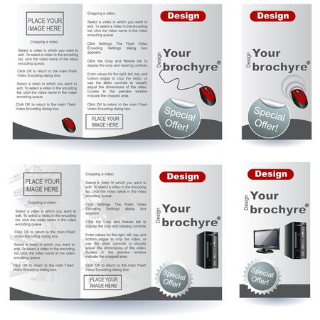 Brochure designs Vector