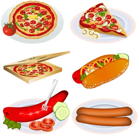 Fast Food Collection 2 Vector