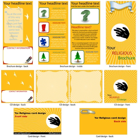 Funeral Services Brochure Template - Word & Publisherreligious
