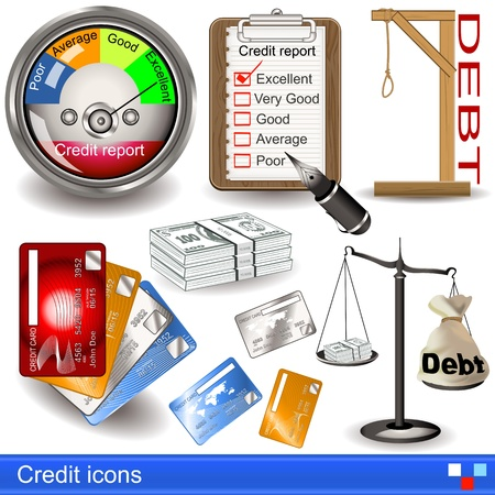 gallows: credit icons