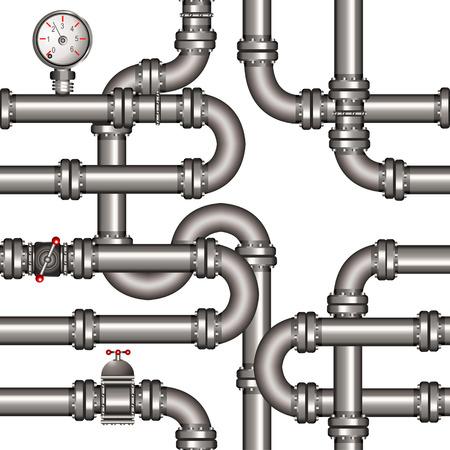 cilindro de gas: ducto sin patr�n