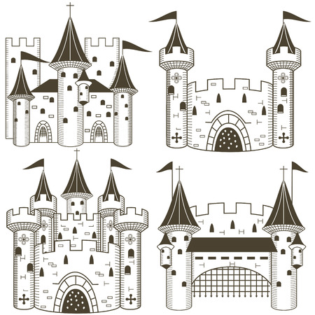 fortress: Castle black collection Illustration