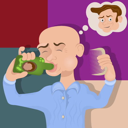 Dream of a bald man