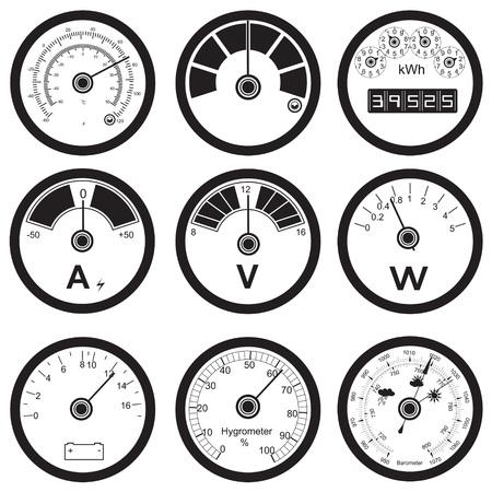 measuring instruments illustration