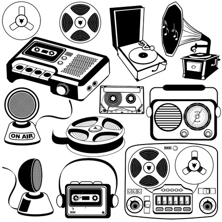 downloads: Vintage music icons