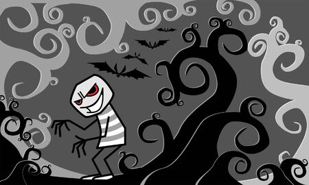 malicious: haunted forest