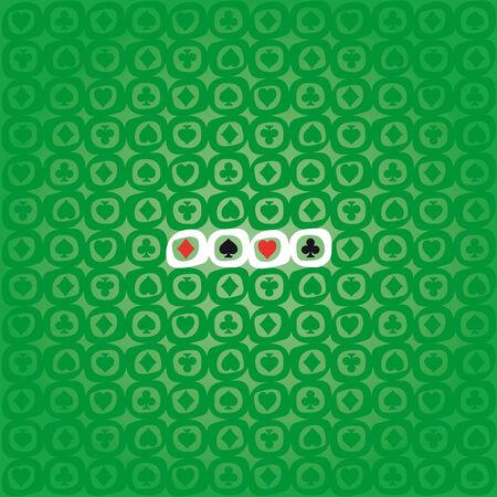 joker card: Background of Poker symbols Illustration