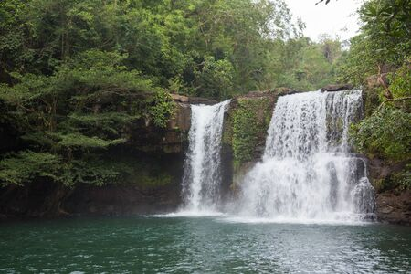 trad: Klong Chao waterfall in Trad Province,Thailand