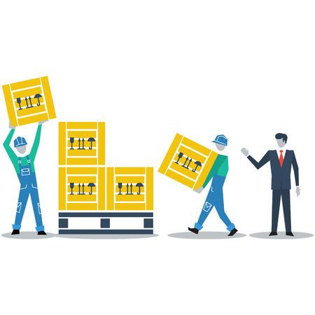 assembler: Logistics expert
