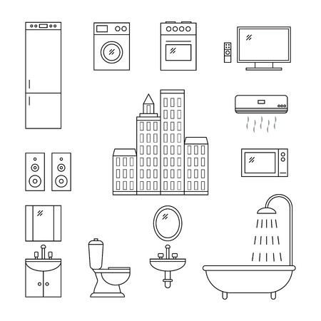 Facilities icons