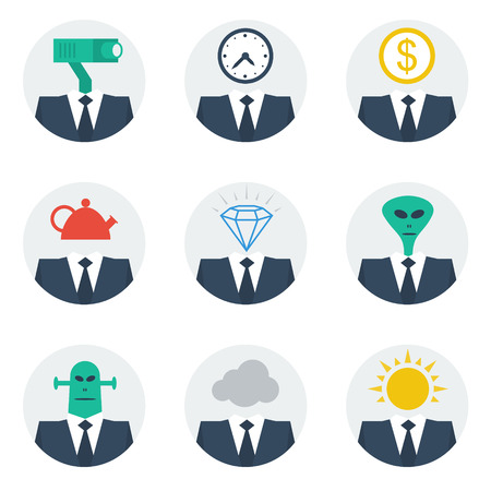 Manager features Иллюстрация