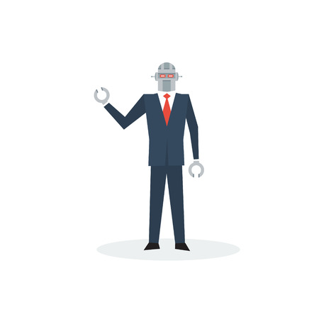 obey: Robot in suit