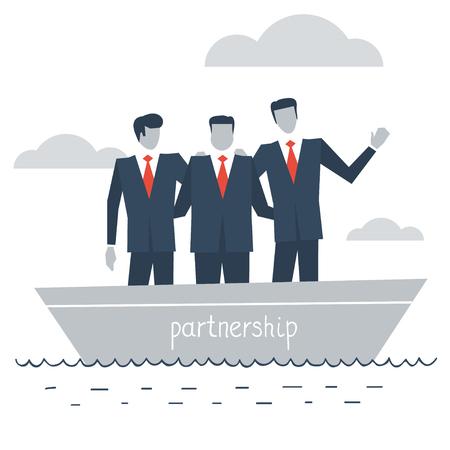 dependable: business partnership