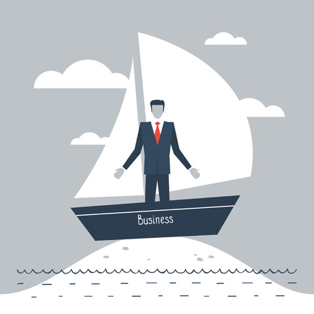 hardship: Business stagnation metaphor