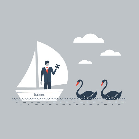 ordeal: Black swans in business
