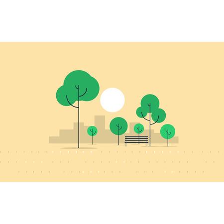 city park: city park