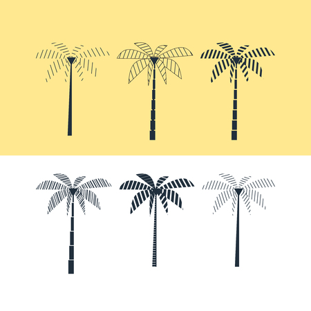 wilding: Palm trees set