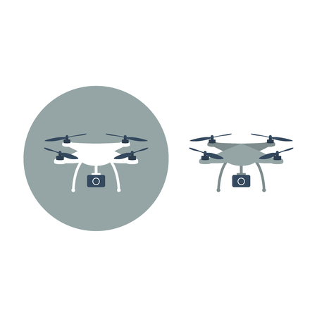 Quadrocopter illustration