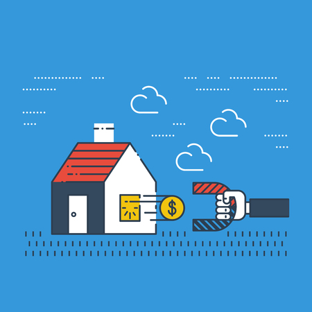 household money: Robbery insurance. Housing expenses. Mortgage subsidy. Rent payments. Illustration