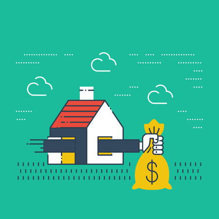 mortgage: Robbery insurance. Housing expenses. Mortgage subsidy. Rent payments. Illustration