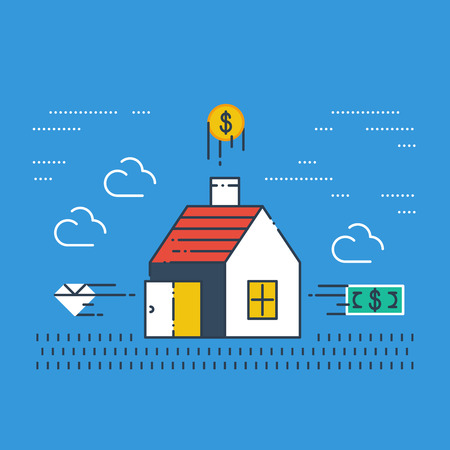 subsidy: Robbery insurance. Housing expenses. Mortgage subsidy. Rent payments. Illustration