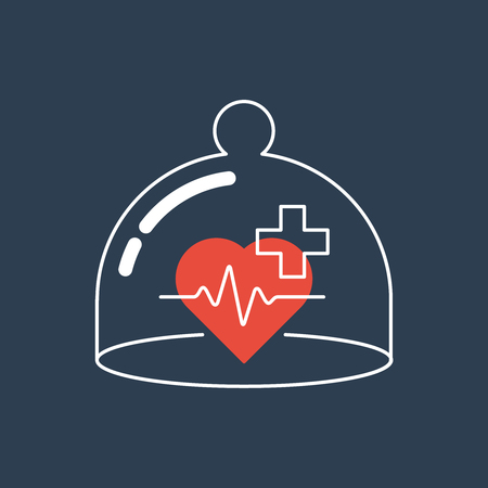 Medical health insurance concept. Pharmacy, clinic.