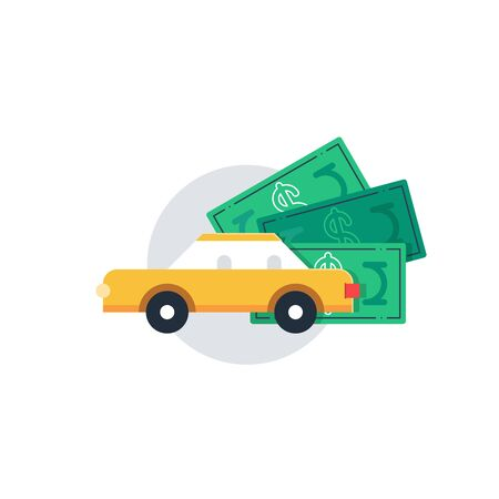 car bills: Rent a car. Bonus money