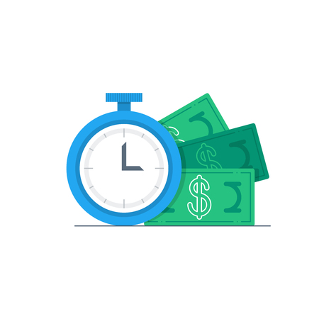 monthly salary: Time is money