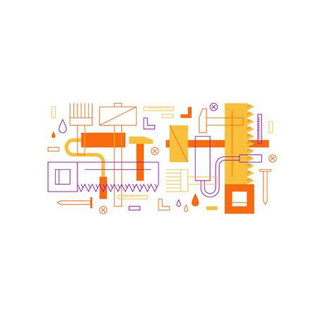 redesign: Renovation service illustration