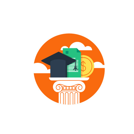 Education concept, grants
