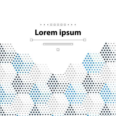 dotted: Template with dotted cubical pattern