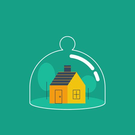 concept assurance habitation. La protection contre toute menace.