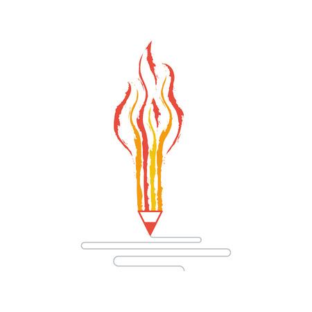 proficiency: Creative writing. Storytelling. Graphic design studio symbol