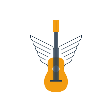 bard: Winged guitar. Music lessons, course or school.