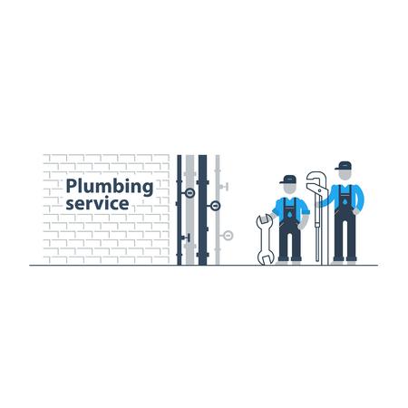 upkeep: Plumbing services Illustration