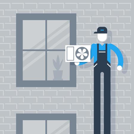 upkeep: Air conditioner installment