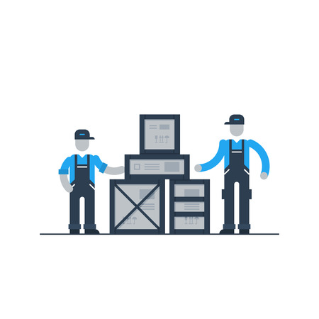 depository: Warehouse workers, logistics services