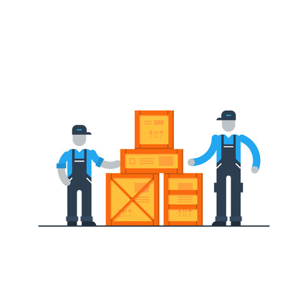 allocation: Warehouse workers, logistics services