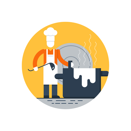 preparing food: Preparing food. Cooking courses