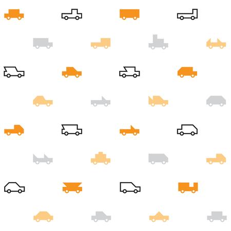 allover: Car pattern Illustration