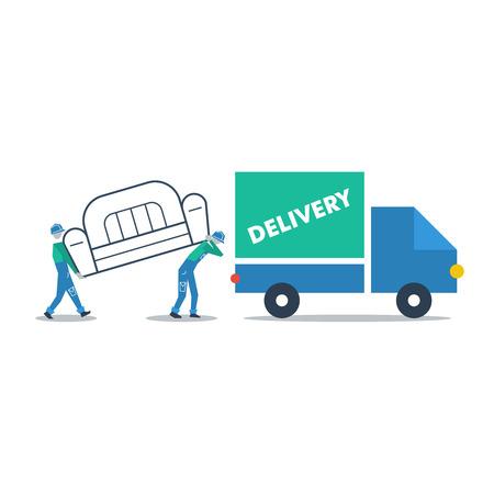 porter house: Delivery furniture