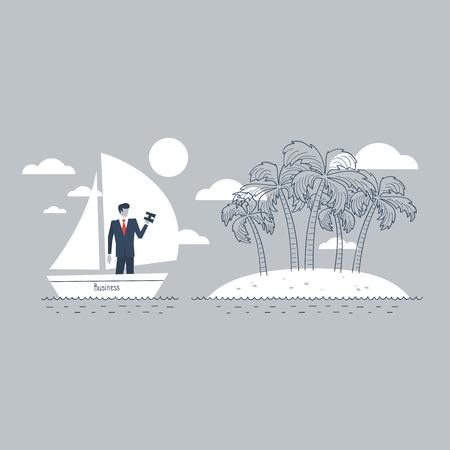uninhabited: A business safety island