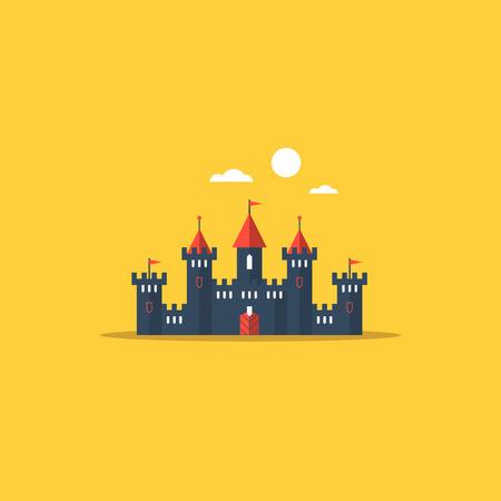 fairy castle: Fabulous fairy castle