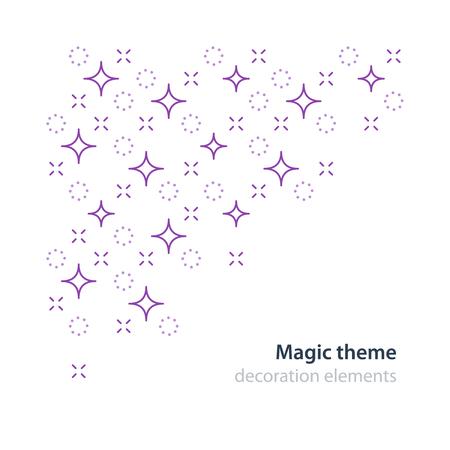 enigma: Magic theme, festive event Illustration