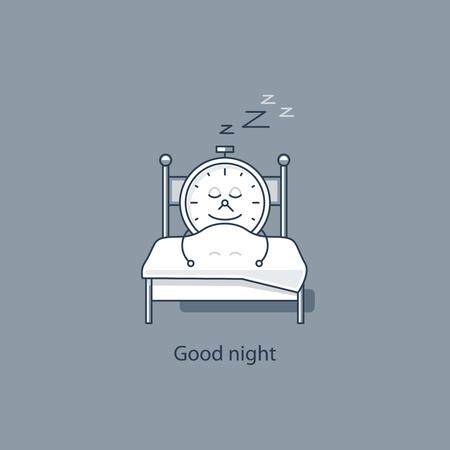 Bonne nuit Vecteurs